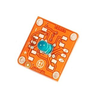 מודול תאורה - TINKERKIT 5MM BLUE LED MODULE ARDUINO