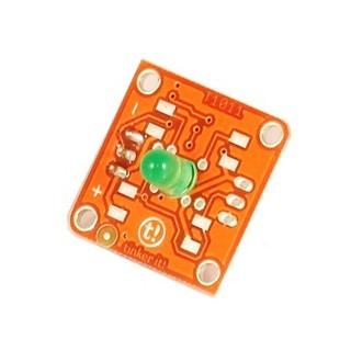מודול תאורה - TINKERKIT 5MM GREEN LED MODULE ARDUINO
