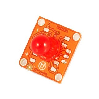 מודול תאורה - TINKERKIT 10MM RED LED MODULE ARDUINO