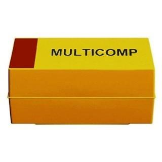 קבל טנטלום - SMD CASE D - 33UF 16V MULTICOMP