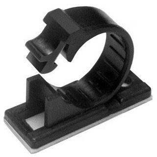 PRO-POWER SELD-ADHESIVE RELEASABLE NYLON J-CLIPS