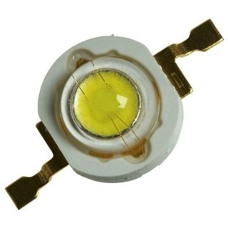לד לבן חם - SMD HIGH POWER 3W MULTICOMP