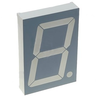 KINGBRIGHT 100MM SINGLE DIGIT NUMERIC DISPLAY