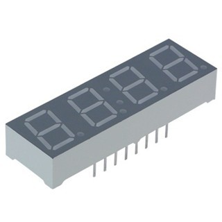 KINGBRIGHT 14.22MM FOUR DIGIT NUMERIC DISPLAY