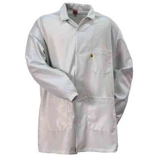 MULTICOMP WHITE ESD LAB COATS