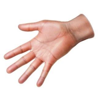 חבילת כפפות אנטי סטטיות - VINYL - מידה EXTRA LARGE MULTICOMP