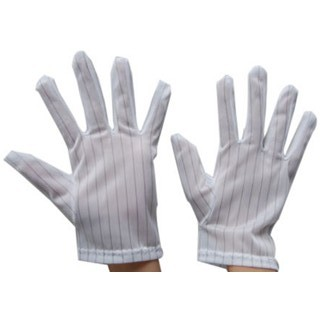 MULTICOMP ESD GLOVES - STRIPED