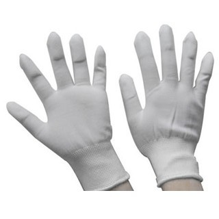 MULTICOMP ESD GLOVES - PU FINGER TIPS