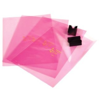 MULTICOMP PINK ANTISTATIC BAGS