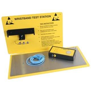 מתקן בדיקה לרצועות יד , רצועות רגל ונעליים אנטי סטטיות MULTICOMP