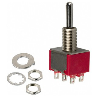 MULTICOMP MINIATURE PANEL MOUNTING TOGGLE SWITCHES