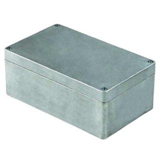 קופסת זיווד ממתכת - G100 SERIES 160X100X81MM MULTICOMP