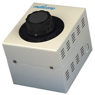 MULTICOMP ENCLOSED VARIABLE TRANSFORMERS