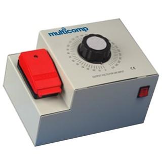 שנאי עם מתח משתנה (VARIAC) - שולחני 5A MULTICOMP