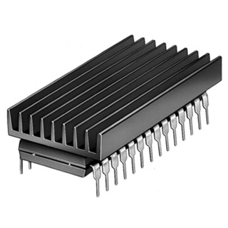 גוף קירור לרכיבים DIP14 / DIP16 - פרופיל רחב FISHER ELEKTRONIK
