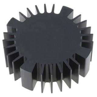 גוף קירור לרכיבים 70X70X25MM - LED FISHER ELEKTRONIK