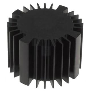גוף קירור לרכיבים 70X70X50MM - LED FISHER ELEKTRONIK