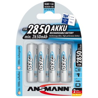 ANSMANN NIMH BATTERIES - HI END LINE