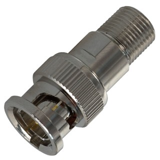 מתאם קואקסיאלי - F TYPE SOCKET - BNC PLUG MULTICOMP