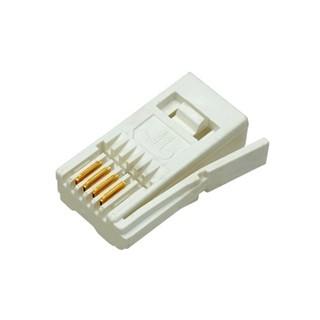מחבר BT 6P6C - זכר ללחיצה לכבל PRO-POWER