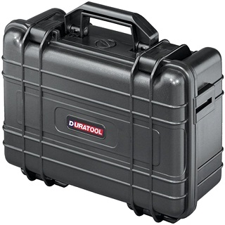 DURATOOL WATERPROOF TOOL BOXES WITH FOAM