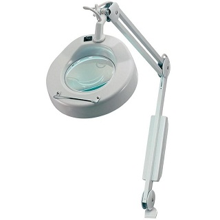 LIGHTCRAFT CLASSIC ROUND MAGNIFIER LAMP
