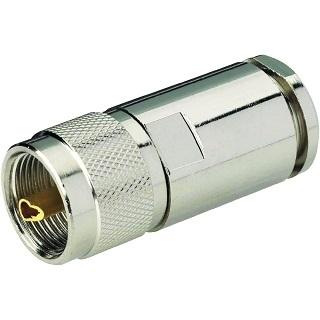 מחבר UHF - זכר להלחמה לכבל RG58 MULTICOMP