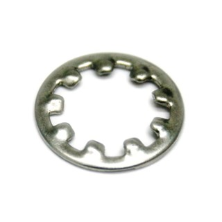 DURATOOL SHAKEPROOF WASHERS - INTERNAL TOOTHED BRIGHT ZINC PLATED