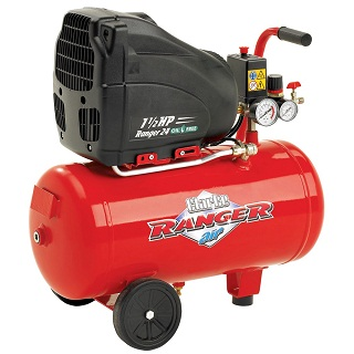 CLARKE 24L OIL FREE AIR COMPRESSOR - RANGER 24
