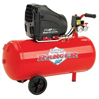 CLARKE 54L OIL FREE AIR COMPRESSOR - RANGER 54