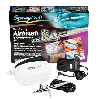 MODELCRAFT AIRBRUSH & COMPRESSOR KIT