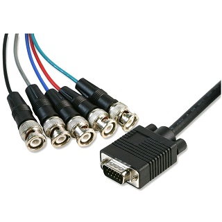 PRO SIGNAL S-VGA TO 5X BNC PLUGS CABLES