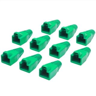 כיסויים להגנה עבור מחברים RJ45 - ירוק MH CONNECTORS