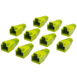 כיסויים להגנה עבור מחברים RJ45 - צהוב MH CONNECTORS