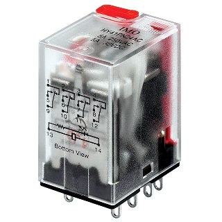 IMO MINIATURE INTERMEDIATE POWER RELAYS - HY SERIES