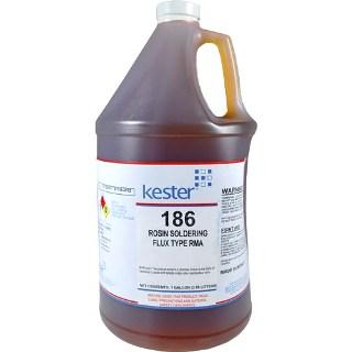 נוזל הלחמה (פלקס) - KESTER 186 - בקבוק 100 מ