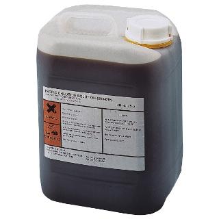 ברזל כלורי - נוזל - FERRIC CHLORIDE - בקבוק 1 ליטר MEGA ELECTRONICS