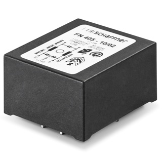 SCHAFFNER LOW PROFILE PCB FILTERS - FN405 SERIES