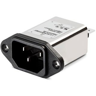 מסנן EMC / RFI עם כניסת מתח IEC - סדרה 3A - FN9233 SCHAFFNER