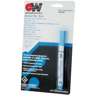 נוזל הגנה כחול לרכיבי אלקטרוניקה - עט 5 גרם CHEMTRONICS