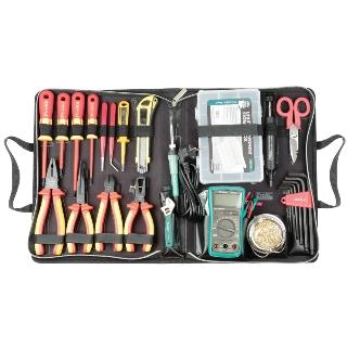 קיט כלי עבודה מקצועי לטכנאי חשמל PROSKIT