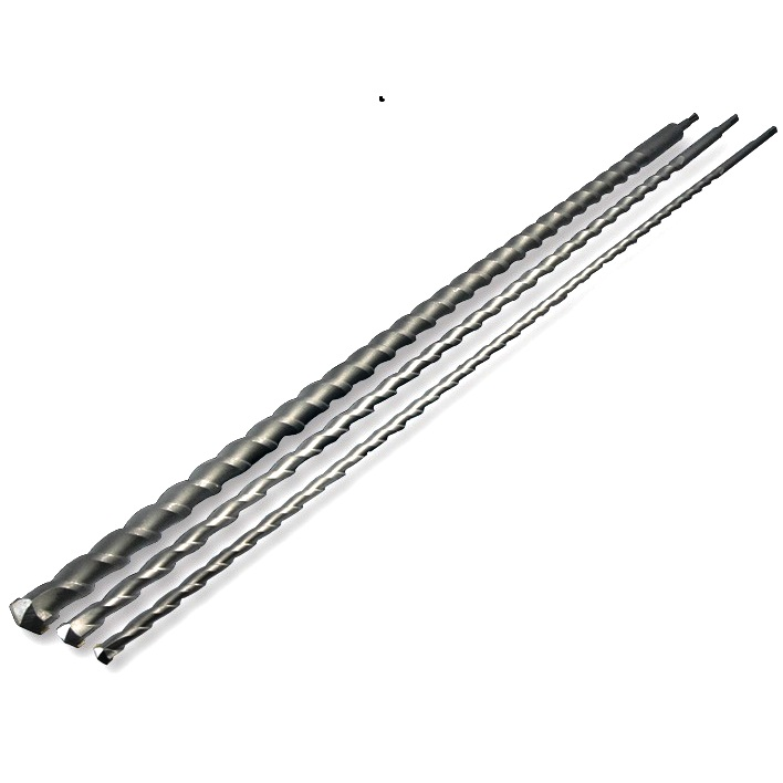 DURATOOL 3 PIECE SDS 1000MM DRILL BIT SET