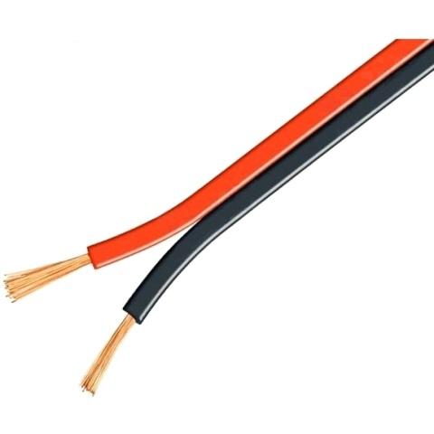 כבל חשמל למתח DC - אדום / שחור - 0.75MM² PRO-POWER