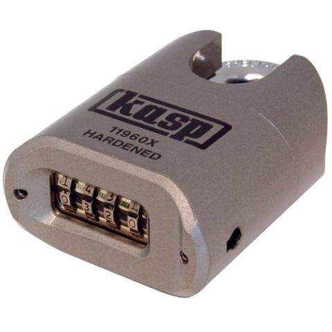 מנעול 4 ספרות (קומבינציה) מקצועי - שקל סגור - 60MM KASP SECURITY
