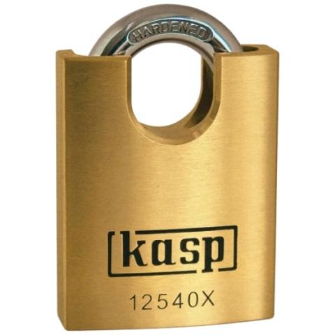 מנעול תלייה מקצועי - שקל סגור - 40MM KASP SECURITY