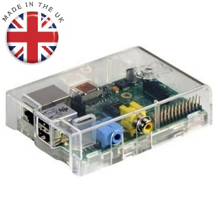 RASPBERRY PI - MODEL B - CASED RASPBERRY PI