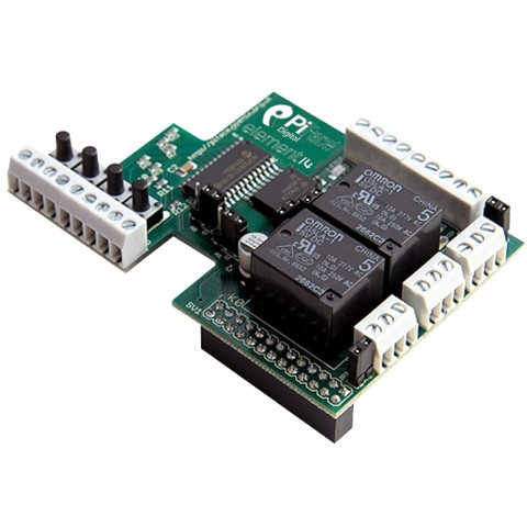 כרטיס הרחבה PIFACE DIGITAL עבור RASPBERRY PI MODEL B PIFACE