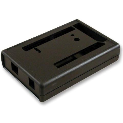 קופסת זיווד שחורה לכרטיס פיתוח - ARDUINO MEGA 2560 HAMMOND
