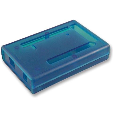 קופסת זיווד כחולה לכרטיס פיתוח - ARDUINO MEGA 2560 HAMMOND