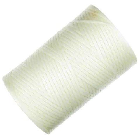 חוט קשירה לבן עם ציפוי שעווה - 1.52MM X 0.30MM - גליל 457 מטר ALPHA WIRE
